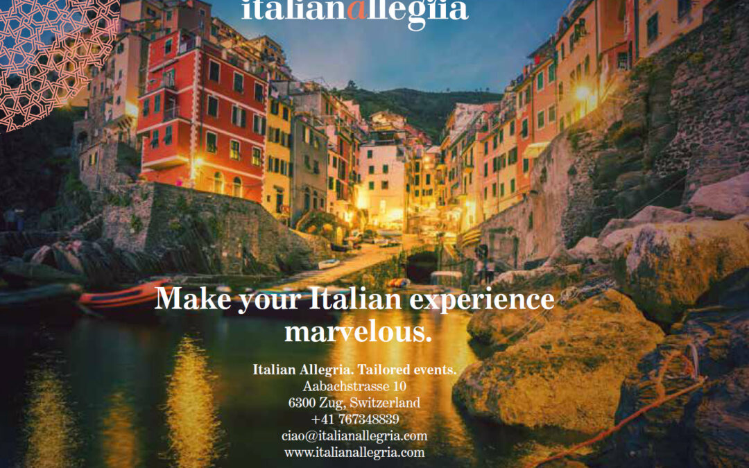 Event planner for destination events in Italy